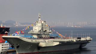 Китайски кораби минираха Тайванския пролив