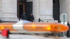 Сигнал за бомба евакуира Съдебната палата