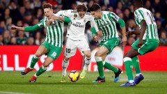 Реал (Мадрид) е владял топката три пъти по-малко от Бетис