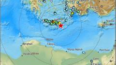 Много силно земетресение удари Крит, предупреждение за цунами