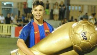 Кун Михайлов си тръгна от Барселона и каза: Ще постигна мечтата си, аз съм талант на световния футбол!
