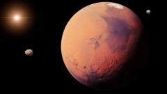 Откриха езера с течна вода под повърхността на Марс