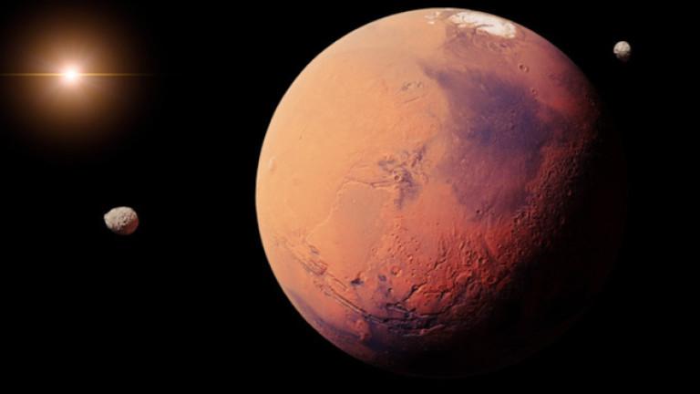 Намериха подземно езеро на Марс