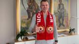 """Черниаускас: Да съм в ЦСКА беше чест! Веднъж """"червен"""", завинаги """"червен""""!"""
