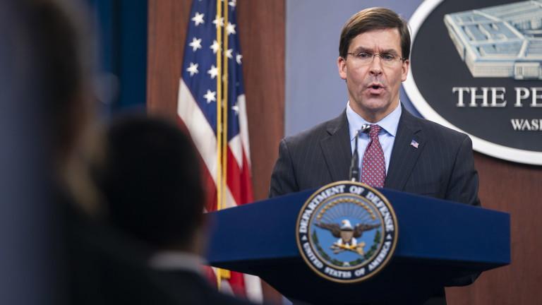 Еспър: САЩ не планират изтегляне от Ирак