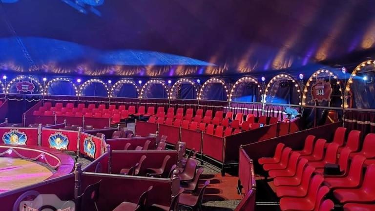 Цирковите артисти се подготвят за отварянето след третия локдаун