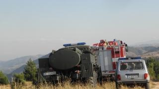 Камион с метан гръмна на пътя Пловдив-Карлово