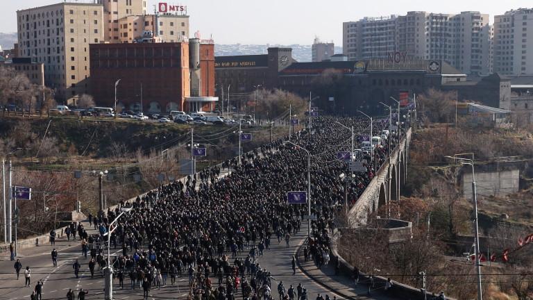 Национална стачка и протести с искане оставката на Пашинян заради Карабах