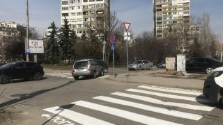 """Поставиха дългоочакваните пешеходни пътеки в """"Манастирски ливади"""""""