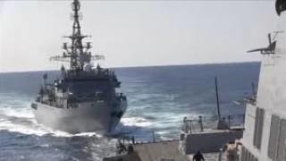 Руско-американският инцидент в Арабско море е заснет на видео