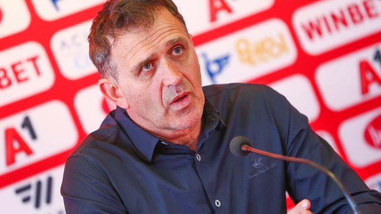 Треньорът на ЦСКА Бруно Акрапович даде пресконференция преди мача с