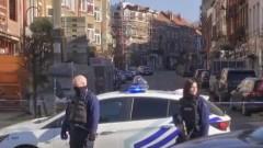 Белгийската полиция отцепи част от столицата Брюксел