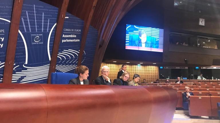 Избраха Джема Грозданова за зам.-председател на Парламентарната асамблея на Съвета