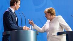 Меркел и Курц се обявиха за надеждна охрана на външните граници на ЕС