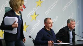 """Станишев """"дисектира"""" ГЕРБ: Борисов е фасадата, Цветанов - същността"""