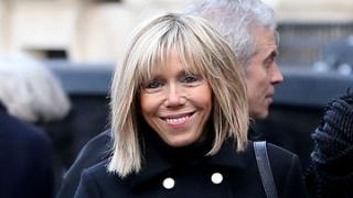 Ето я новата първа дама на Франция (СНИМКИ)