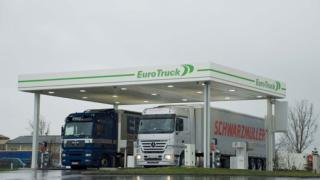 OMV открива нова верига бензиностанции за камиони