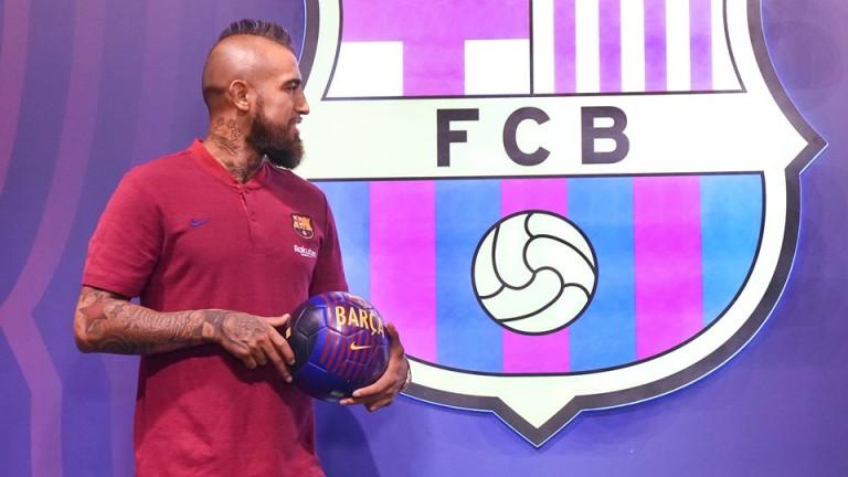 Новото попълнение на Барселона - Артуро Видал, направи поредното си