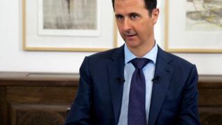 """Асад: Авиоударите не помагат, """"Ислямска държава"""" се разширява"""
