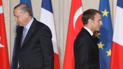"""Ердоган се надява Франция скоро да се отърве от """"бремето"""" Макрон"""