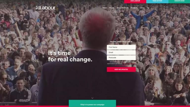 Лейбъристката партия на Великобритания разкри, че е станала жертва на
