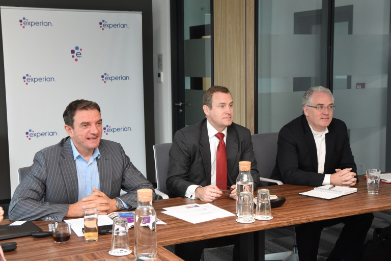 Петър Бънков, Джим Фик и Дейвид Палмери от компанията