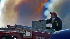 Евакуират селища заради пожари на гръцкия остров Евия