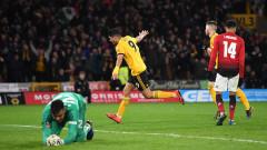 Уулвърхемптън победи Манчестър Юнайтед с 2:1