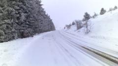 """Първи сняг падна на прохода """"Петрохан"""""""