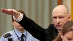 """Норвежки съд разглежда """"нечовешките"""" условия на Брайвик в затвора"""