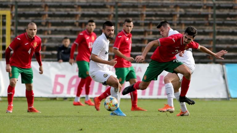 Двубоят между Славия и младежкия национален отбор на България, който