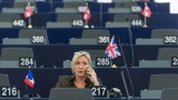 Референдум във Франция за ЕС, ако стана президент, потвърди Марин льо Пен