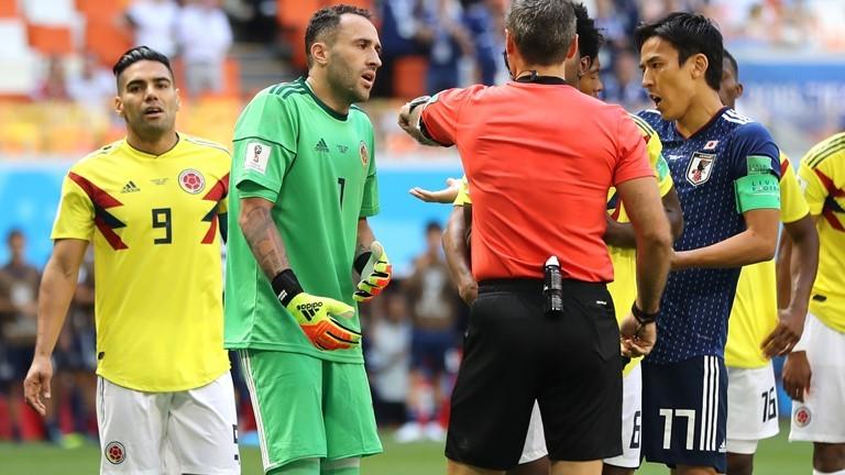 Колумбия 0 : 1 Япония 12′ Опасно центриране към Фалкао!Изпуснат