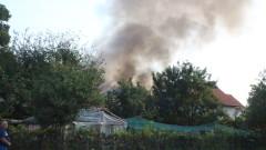 Изгоря къща в Казанлък