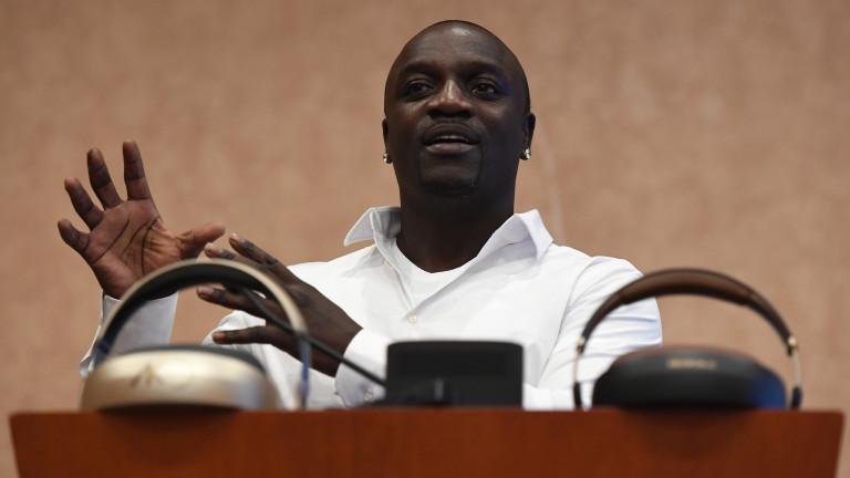 Рапърът Akon си строи собствена Уаканда