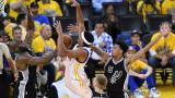 Голдън Стейт разгроми Сан Антонио във втория мач от плейофите в НБА