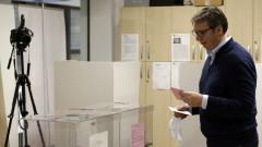 Сърбия отчете 26,5% избиратена активност към 14 часа