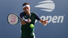 Безпроблемно начало за Григор Димитров на US Open