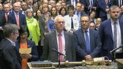 Парламентът за трети път отхвърли сделката на Мей за Брекзит