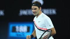 Роджър Федерер даде само 5 гейма на Ник Кириос
