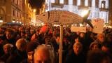 """Хиляди """"сардини"""" протестираха срещу Салвини в Италия"""