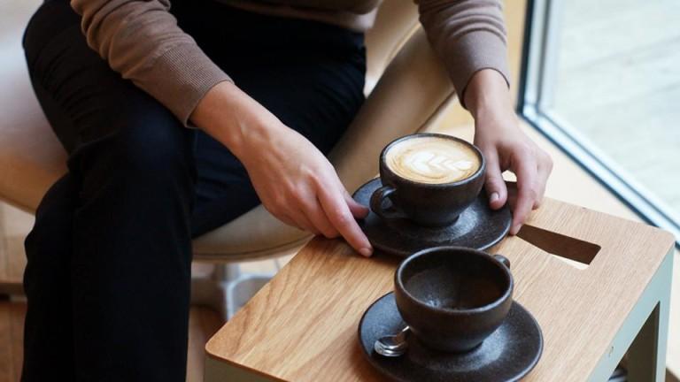 Чаши за кафе от утайка на кафе