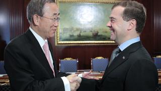 Медведев иска Русия да поеме инициативата по кризата в Африка
