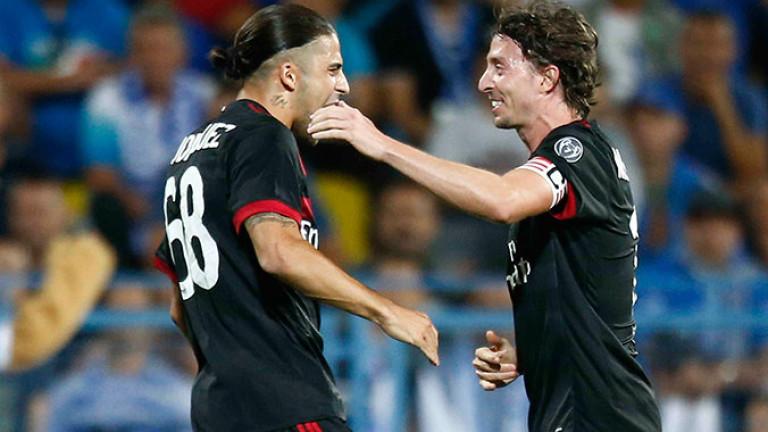 Отборът на Милан се завърна по победоносен начин в европейските