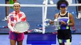 Наоми Осака обърна Виктория Азаренка във финала на US Open 2020