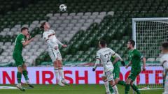 """България взе точка в Дъблин, но изпадна в Лига """"С"""""""