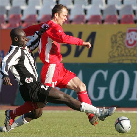 ЦСКА бие за последно Локо като гост през 1998