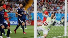 Победата на Белгия над Япония влезе в историята