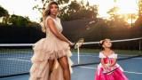 Серина Уилямс, дъщеря й Олимпия и съвместните им тенис тренировки