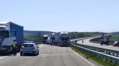 Катастрофа с 4  коли между Костинброд и Волуяк
